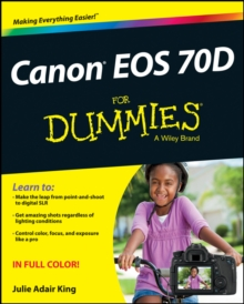 Canon Eos 70D for Dummies, Paperback Book