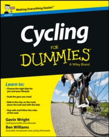 Cycling For Dummies, Paperback Book