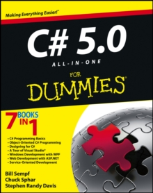 C# 5.0 All-in-One For Dummies, Paperback / softback Book