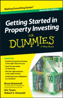 Getting Started in Property Investment For Dummies - Australia, Paperback / softback Book