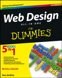 Web Design All-In-One for Dummies (R), 2nd Edition, Paperback Book