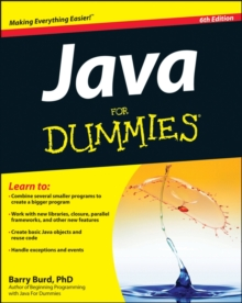 Java For Dummies, Paperback Book