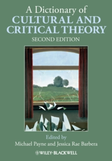 A Dictionary of Cultural and Critical Theory, Paperback / softback Book
