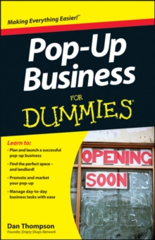 Pop-Up Business For Dummies, Paperback Book