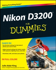 Nikon D3200 for Dummies, Paperback Book