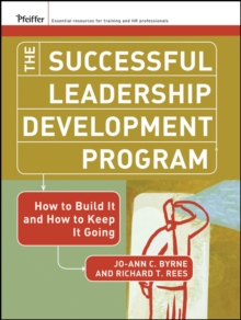 The Successful Leadership Development Program : How to Build It and How to Keep It Going, EPUB eBook