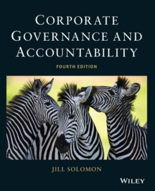 Corporate Governance and Accountability, Paperback Book