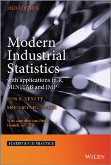 Modern Industrial Statistics : With Applications in R, MINITAB and JMP, Hardback Book