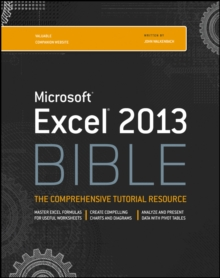 Excel 2013 Bible, Paperback Book