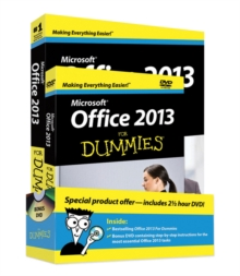 Office 2013 for Dummies, Paperback Book