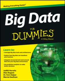 Big Data for Dummies, Paperback Book