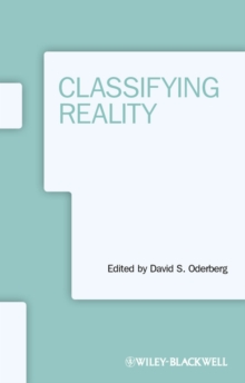 Classifying Reality, Paperback / softback Book
