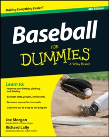 Baseball for Dummies, 4th Edition, Paperback / softback Book