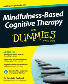 Mindfulness-Based Cognitive Therapy For Dummies, Paperback Book