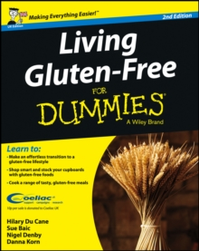 Living Gluten-Free For Dummies, Paperback Book