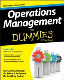 Operations Management for Dummies, Paperback Book