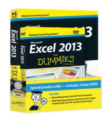 Excel 2013 For Dummies, Paperback Book