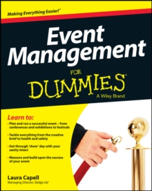 Event Management For Dummies, Paperback Book