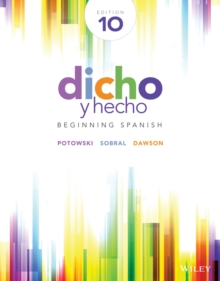 Dicho y hecho : Beginning Spanish, Paperback / softback Book