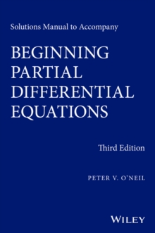 Solutions Manual to Accompany Beginning Partial Differential Equations, Paperback / softback Book