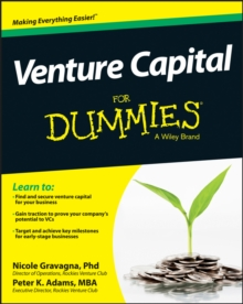 Venture Capital For Dummies, Paperback / softback Book