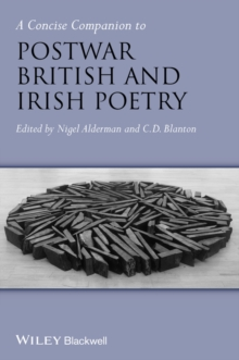 A Concise Companion to Postwar British and Irish Poetry, Paperback / softback Book