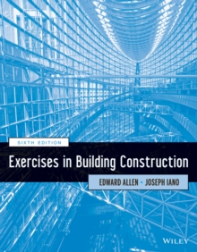 Exercises in Building Construction, Paperback / softback Book