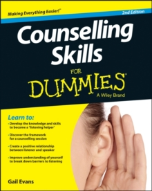Counselling Skills For Dummies, Paperback / softback Book