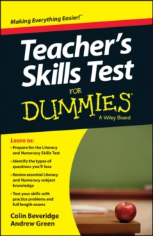 Teacher's Skills Tests for Dummies UK Edition, Paperback Book
