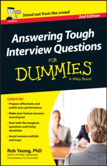 Answering Tough Interview Questions For Dummies - UK, Paperback / softback Book