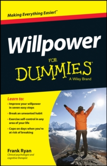 Willpower For Dummies, Paperback Book