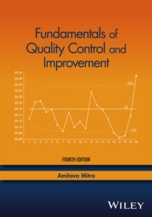 Fundamentals of Quality Control and Improvement, Hardback Book