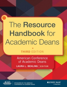 The Resource Handbook for Academic Deans, Hardback Book