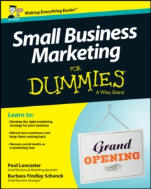 Small Business Marketing for Dummies, Paperback Book