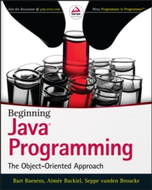 Beginning Java Programming : The Object-oriented Approach, Paperback Book
