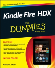 Kindle Fire HDX For Dummies, Paperback Book