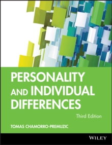 Personality and Individual Differences, Paperback / softback Book