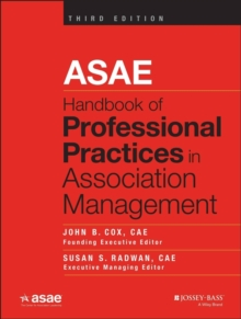 ASAE Handbook of Professional Practices in Association Management, Hardback Book