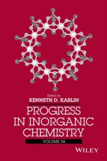 Progress in Inorganic Chemistry, Hardback Book