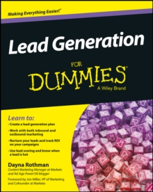 Lead Generation for Dummies, Paperback / softback Book