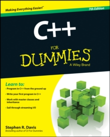 C++ For Dummies, Paperback Book