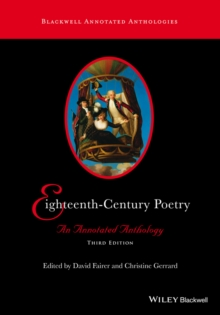 Eighteenth-Century Poetry : An Annotated Anthology, Paperback / softback Book
