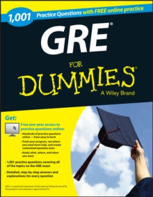 1,001 GRE Practice Questions For Dummies (+ Free Online Practice), Paperback / softback Book