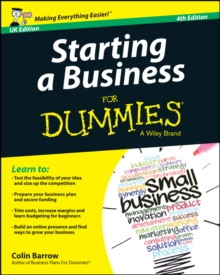 Starting a Business for Dummies for Dummies 4E UK, Paperback / softback Book