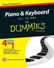 Piano & Keyboard All-In-One for Dummies, Paperback Book