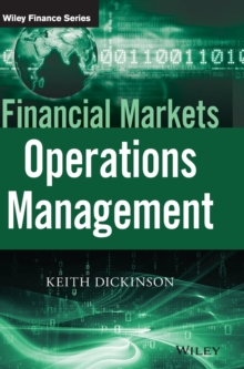 Financial Markets Operations Management, Hardback Book