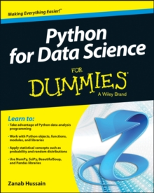 Python for Data Science for Dummies, Paperback Book