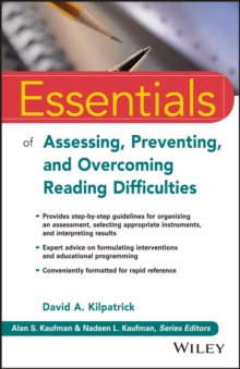 Essentials of Assessing, Preventing, and Overcoming Reading Difficulties, Paperback / softback Book
