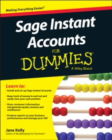Sage Instant Accounts For Dummies, Paperback Book