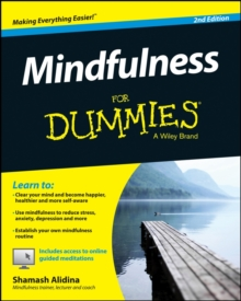Mindfulness For Dummies, Paperback Book